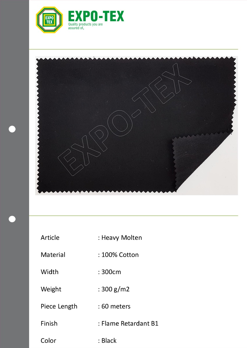 Flame retardant fabric, blackout fabric, molten fabric, curtain fabric, fr fabric